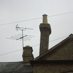 Leaning Chimney Stack